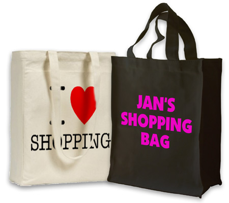 Design cotton shopping bags and much more with design for Design outlet online