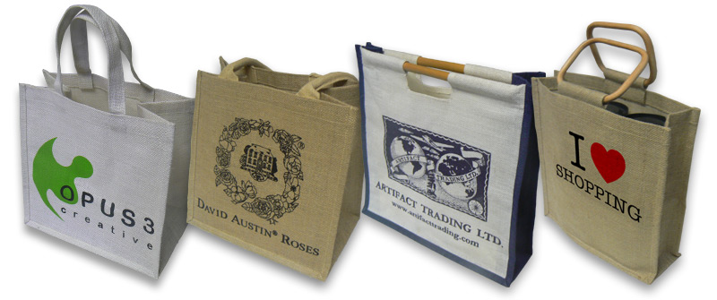Design Your Own Jute Shopping Bags