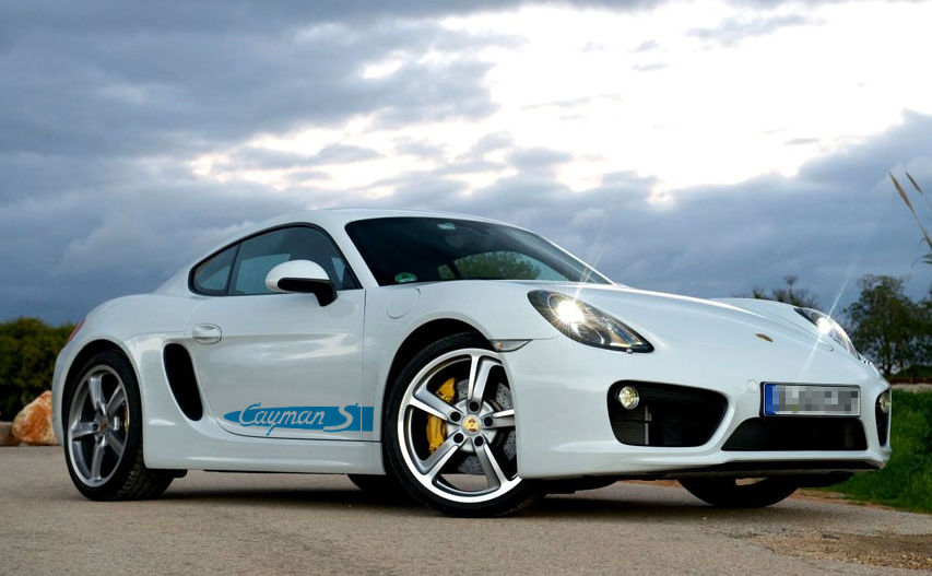 Gallery of Porsche Decals, Graphics, Stripes, Stickers and