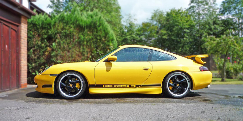 Gallery of Porsche Decals, Graphics, Stripes, Stickers and much more