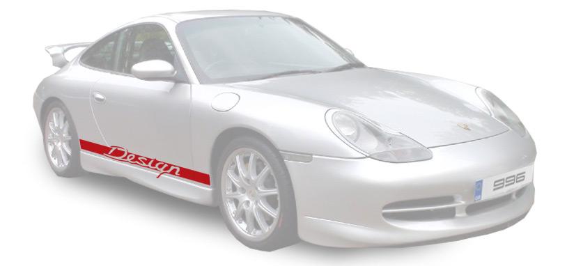 Porsche Decals Porsche 911 996 Graphics Stripes Stickers And Much More With Design Stuff Online