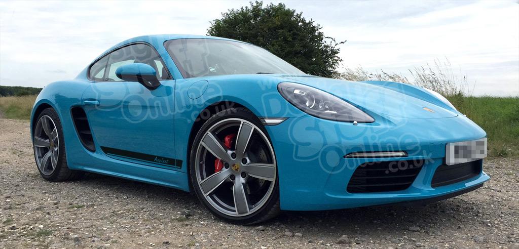 Porsche Cayman Decals, Porsche 981 Graphics, Stripes, Stickers and